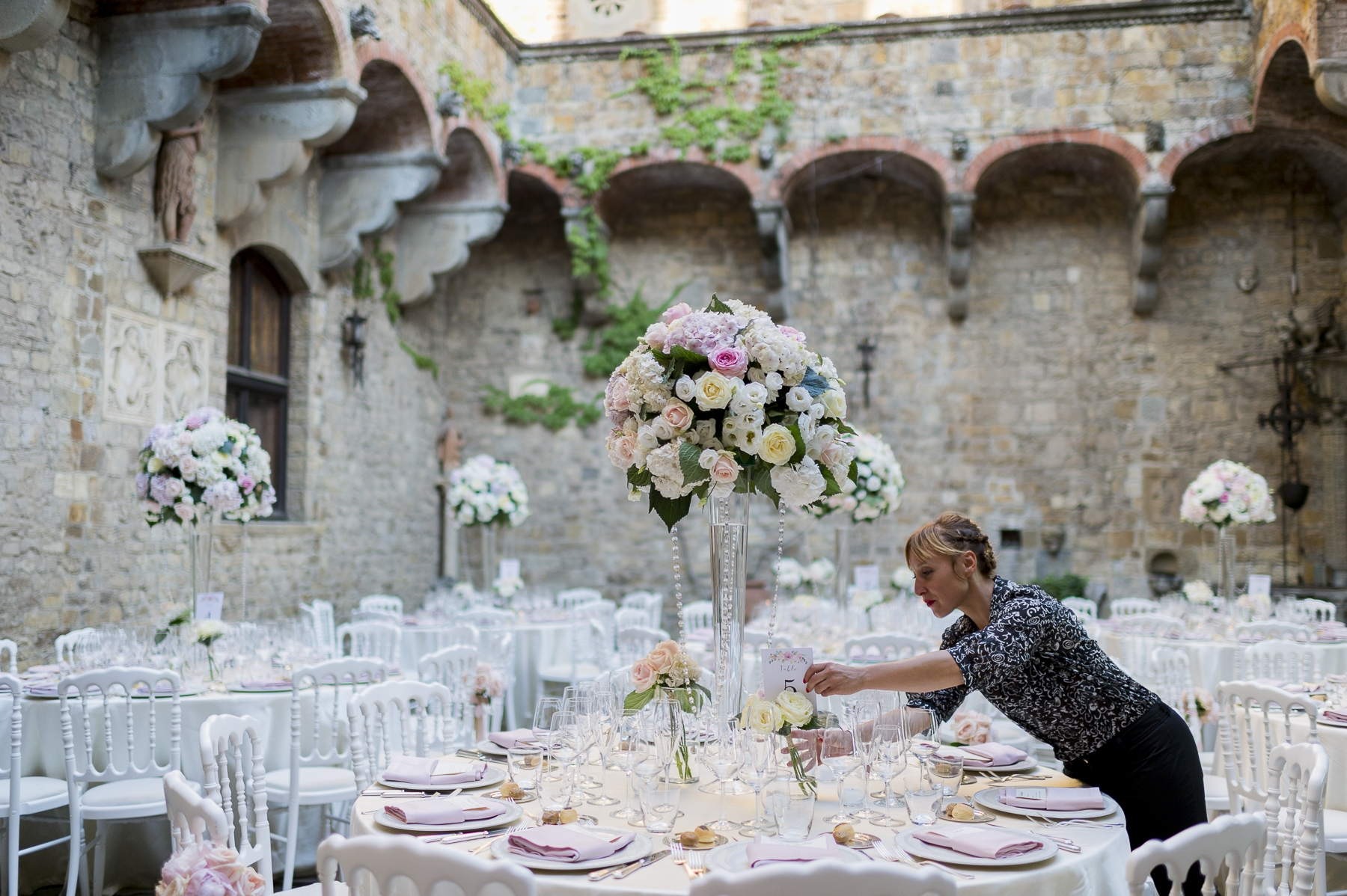 Wedding reception in Florence – Rose and Joshua