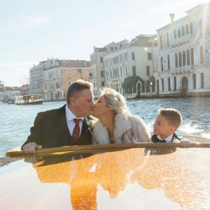 Winter wedding in Venice – Claire and Jeffrey