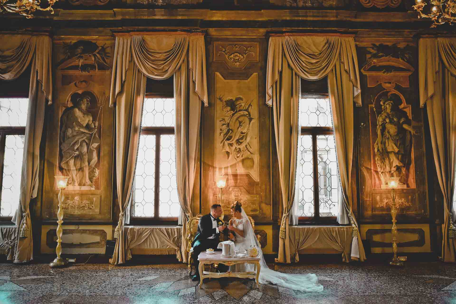 Wedding in a Palace